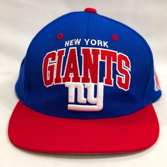 New York Giants Flat Brim Snapback Hat d085d65dde7